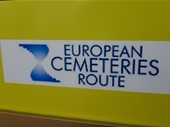 First European Cemeteries Route info point